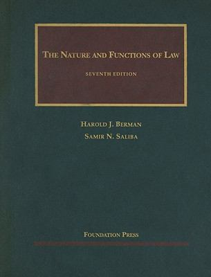 The Nature and Functions of Law 9781599413372