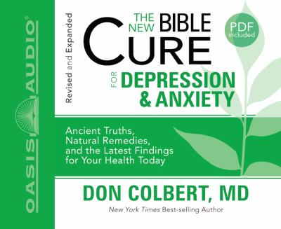 The New Bible Cure for Depression & Anxiety 9781598597356