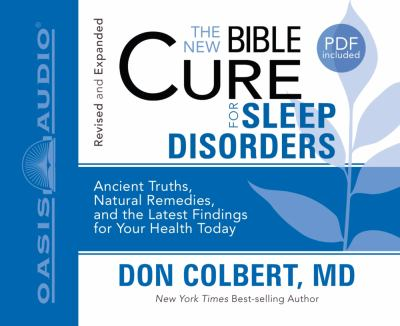 The New Bible Cure for Sleep Disorders 9781598597370