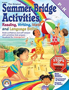 The Original Summer Bridge Activities Pre K-K [With Punch-Out Flash Cards] 9781594417252