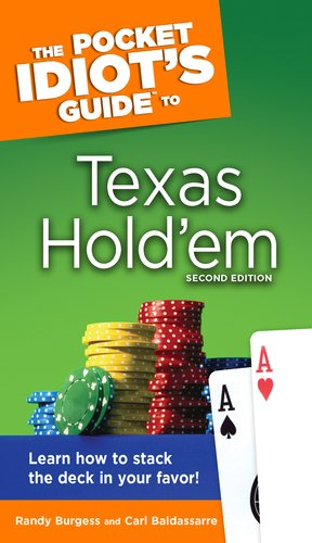 The Pocket Idiot's Guide to Texas Hold'em 9781592575633