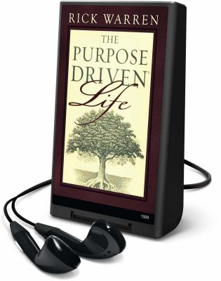 The Purpose Driven Life [With Headphones] 9781598951332