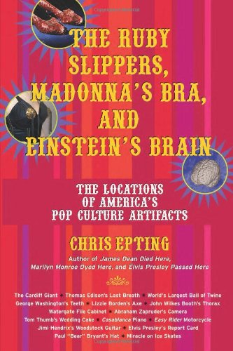 The Ruby Slippers, Madonna's Bra, and Einstein's Brain: The Locations of America's Pop Culture Artifacts 9781595800084