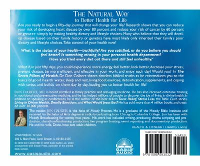 The Seven Pillars of Health: The Natural Way to Better Health for Life 9781598593532
