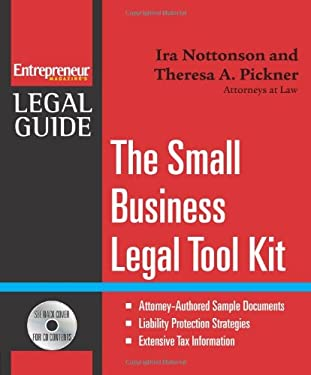 The Small Business Legal Tool Kit [With CDROM] 9781599180953