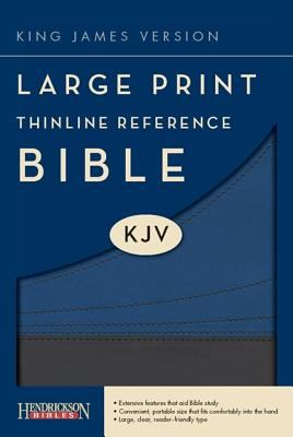 Large Print Thinline Reference Bible-KJV 9781598566314