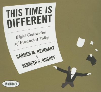 This Time Is Different: Eight Centuries of Financial Folly 9781596596276