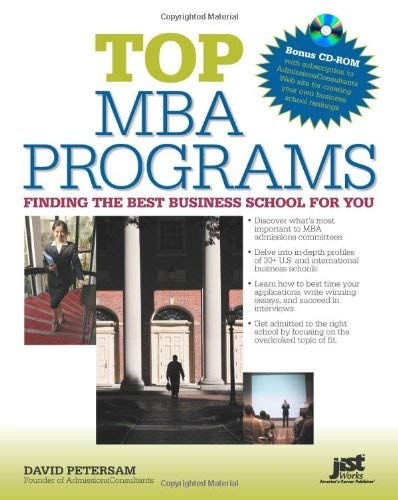 Top MBA Programs: Finding the Best Business School for You [With CDROM] 9781593576738