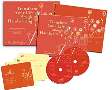 Transform Your Life Through Handwriting [With Guidebook and 26 Cards and Journal and 2 CDs] 9781591797159