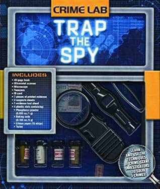 Trap the Spy [With Twine, Vials, Tweezers, Scanner, MicroscopeWith Paperback Book] 9781592237159