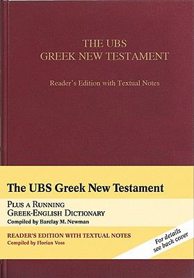 UBS Greek New Testament-FL-Reader's 9781598566338
