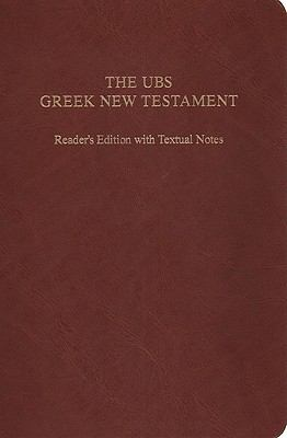 UBS Greek New Testament-FL-Reader's 9781598566345