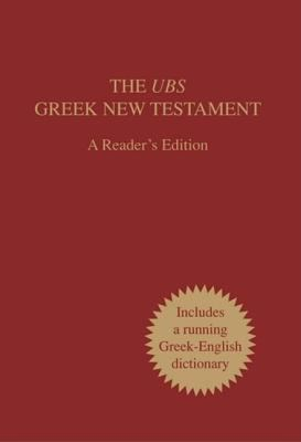 UBS Greek New Testament-FL-Readers 9781598563573