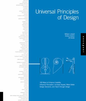 Universal Principles of Design: A Cross-Disciplinary Reference 9781592530076