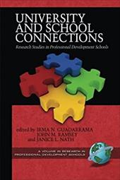 University and School Connections: Research Studies in Professional Development Schools (PB) 7280029