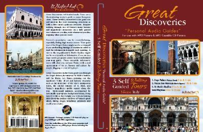 Venice, Italy - 3 Self Guided Walking Tours: Doge Palace, Piazza San Marco, St. Mark's Basilica [With Coupons for Memorex CD/MP3 Player and Map]