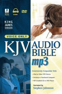 Voice Only Bible-KJV 9781598561357