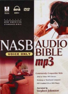 Voice Only Bible-NASB: The Elegance and Simplicity of the Spoken Word [With DVD] 9781598561203