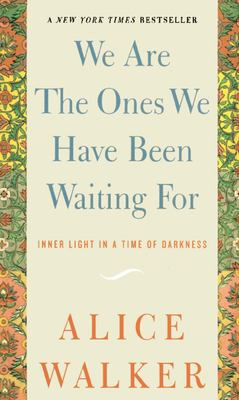 We Are the Ones We Have Been Waiting for: Inner Light in a Time of Darkness 9781595582164