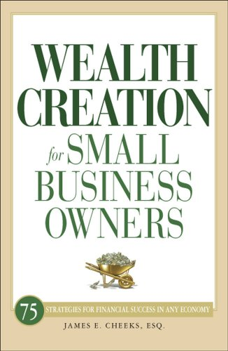 Wealth Creation for Small Business Owners: 75 Strategies for Financial Success in Any Economy 9781598699616