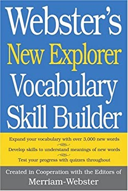 Webster's New Explorer Vocabulary Skill Builder 9781596950450