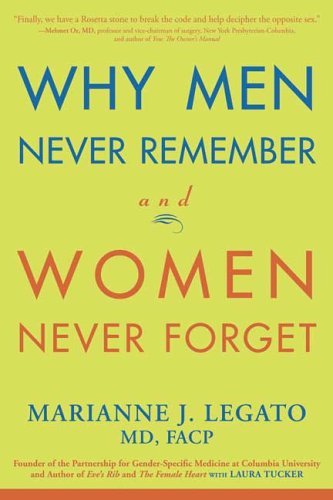 Why Men Never Remember and Women Never Forget 9781594865275