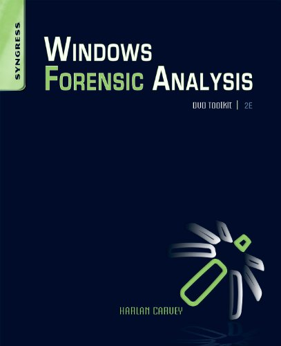 Windows Forensic Analysis DVD Toolkit [With DVD] 9781597494229