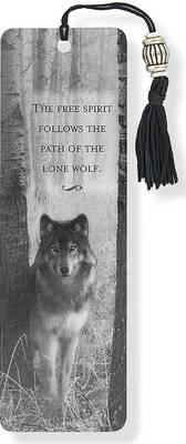 Wolf Beaded Bookmark
