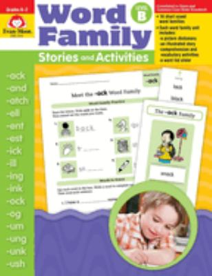 Word Family Stories and Activities Level B 9781596731684