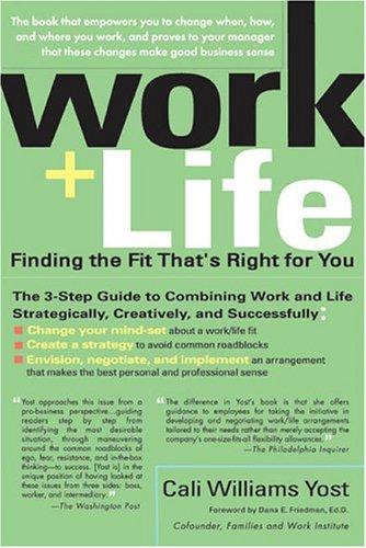 Work + Life 9781594480652