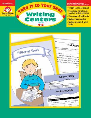 Writing Centers. Grades 4-5 9781596730816