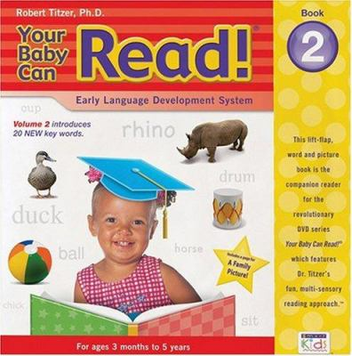 Your Baby Can Read! Book 2 Op0608: Early Language Development System 9781591257783