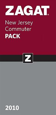 Zagat New Jersey Commuter Pack [With Paperback Book] 9781604782158