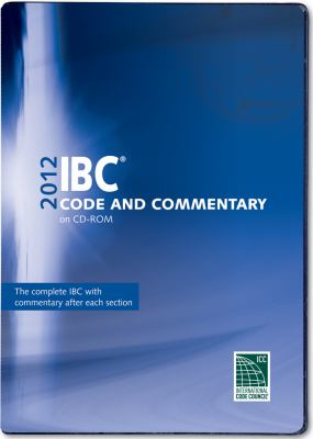 2012 International Building Code Commentary Combo (Vol. 1 & 2) CD ROM 9781609830755
