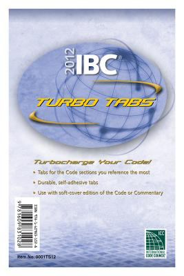 2012 International Building Code Turbo Tabs for Soft Cover Edition 9781609831028
