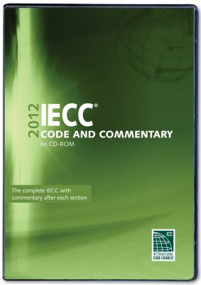 2012 International Energy Conservation Code Commentary CD-ROM 9781609830786