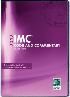 2012 International Mechanical Code Commentary CD-ROM 9781609830823