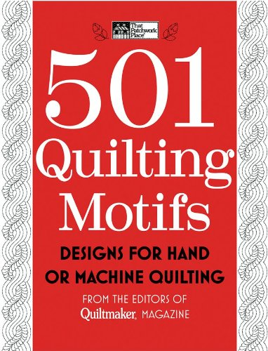 501 Quilting Motifs: Designs for Hand or Machine Quilting 9781604680546