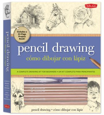 Pencil Drawing/Como Dibujar Con Lapiz: A Complete Kit for Beginners/Un Kit Completo Para Principiantes [With Sandpaper Block, Artist's Triangle and 6 9781600582561