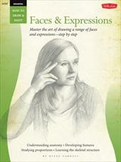 Drawing: Faces & Expressions: Master the art of drawing a range of faces and expressions - step by step (How to Draw & Paint) 22556183