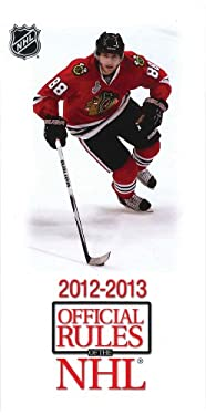 2012-2013 Official Rules of the NHL 9781600787423