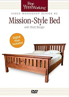 Mission Style Bed 9781600853814