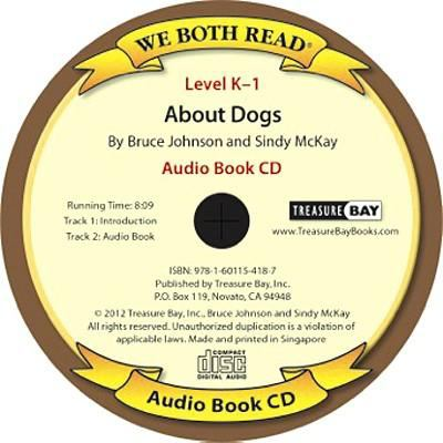 About Dogs (We Both Read Audio Level K-1) 9781601154187
