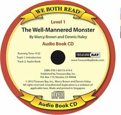 The Well-Mannered Monster (We Both Read Audio Level 1) 9781601154194
