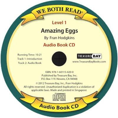 Amazing Eggs (We Both Read Audio Level 1) 9781601154200