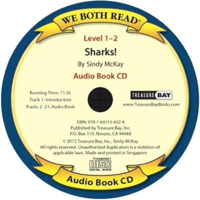 Sharks! (We Both Read Audio Level 1-2) 9781601154224