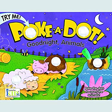 Poke A Dot Goodnight, Animals Book With Pop-A-Tronic Technology