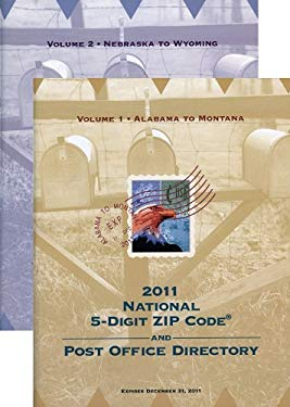 National Zip Code Directory 2011 (2 Volume Set) 9781601758361