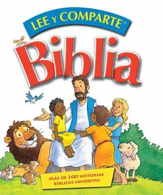 Lee y Comparte Biblia: Mas de 200 Historias Biblicas Favoritas = Read and Share Bible 9781602554092