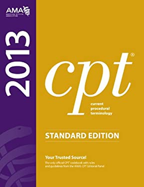 CPT 2013 Standard Edition 9781603596831